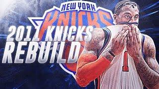 NEW WARRIORS? 2011 NY KNICKS REBUILD! NBA 2K19
