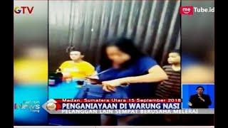 Pesanan Lama, Wanita Ini Ngamuk Lempar Piring ke Pelayan Warung Makan - BIS 16/09
