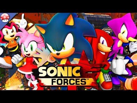 Gameplay de Sonic Forces