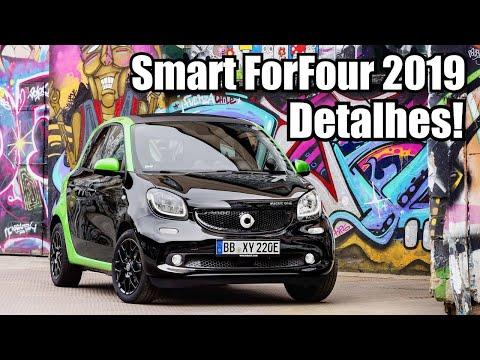 Novo Smart For Four EQ 2019 em detalhes - Falando de Carro