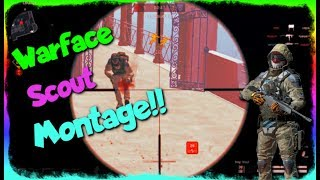Warface Rank: Perm Scout :0 Montage, Love My New Sniper