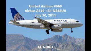 United Airlines #660