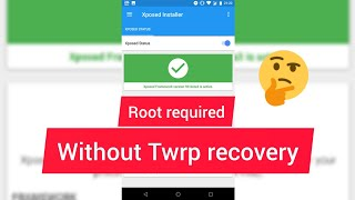 How To Install #Xposed #installer #without #TWRP#CWM 😉recovery