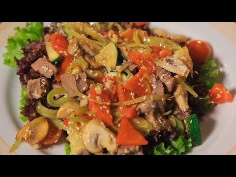 Салат Торре-дель-Греко. Рецепт от шеф-повара.