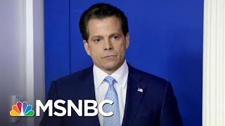 NYT: Anthony Scaramucci Out As White House Communications Director | MSNBC thumbnail