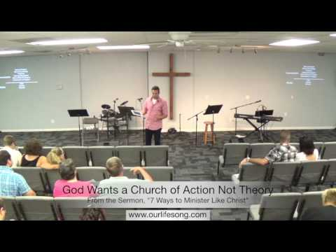 God Wants a Church of Action Not Theory