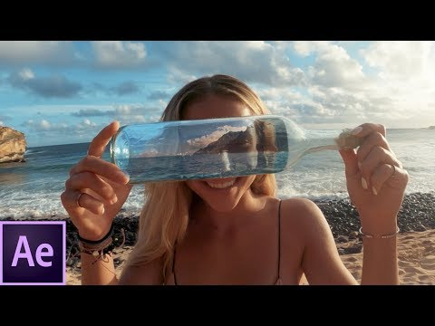 Adobe After Effects Tutorial: Message in a Bottle Zoom Transition