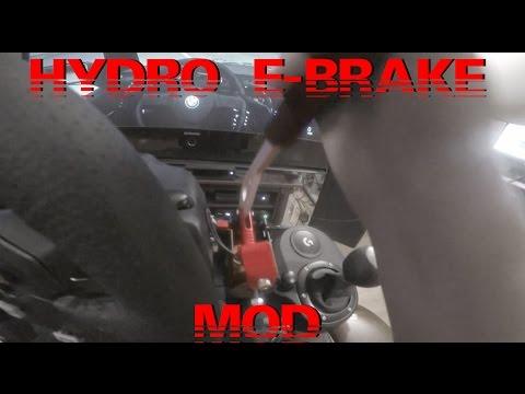 Logitech G920 Hydraulic Hand Brake!