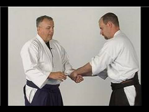 Atemi: Aikido Techniques : Atemi from a Double Wrist Grab