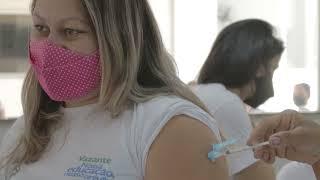 Vazante inicia imunização de professores