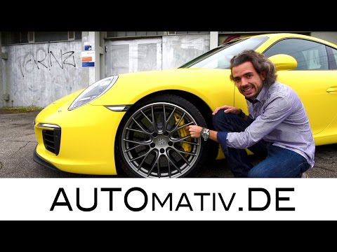 2017 Porsche 911 Carrera S (991.2) im Test (420 PS, 3.0l) Fahrbericht - Review