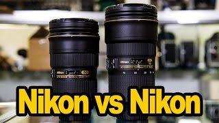 Nikon 24-70 2.8 VR vs Nikon 24-70 2.8