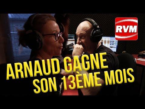 ARNAUD DE CHARLEVILLE GAGNE SON 13EME MOIS DE SALAIRE SUR RVM