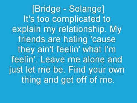 Solange ft Beyonce and Da Brat Naive Lyrics