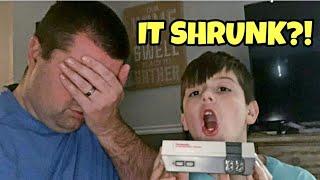 Kid Temper Tantrum Shrinks The Original Nintendo