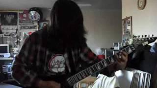 exodus deranged guitar cover