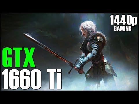 GeForce GTX 1660 Ti + Ryzen 5 2600 | 14 GAMES in 1440p