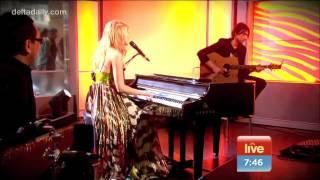 Delta Goodrem - Wish You Were Here (Live on Sunrise - October 29, 2012)