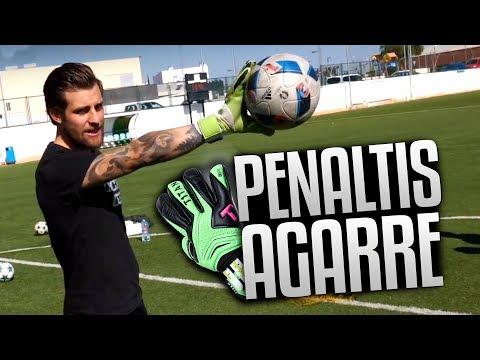 PENALTIS con GUANTES de AGARRE EXTREMO para PORTEROS  - Retos de Fútbol, Goles y Jugadas