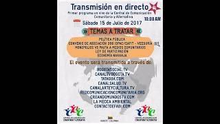 PROGRAMA CENTRAL DE COMUNICACIÓN COMUNITARIA Y ALTERNATIVA CCC