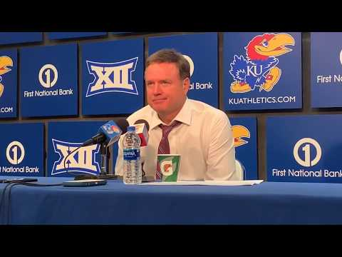 Coach Self after KU won over  UNCG