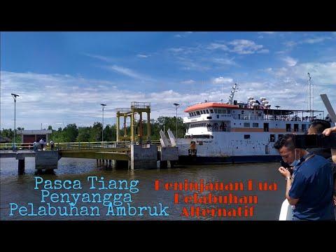 VIDEO: KSOP bersama Pelindo dan Dishub Meranti Tinjau Dua Pelabuhan Alternatif