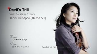 Devil's Trill - Violin Sonata in G minor - Tartini - Vn. Yang Kowoon 양고운