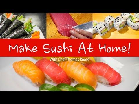 ▁ ▂ ▃ ▄ ▅ ▆ ▇ Направете Си Суши Вкъщи - бързо, лесно, вкусно!