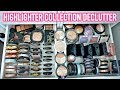 Download Video BEAUTY ROOM DECLUTTER | MY HIGHLIGHTER COLLECTION