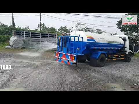 Xe phun nước rửa đường 7 khối Hyundai Mighty 2017