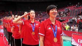 中国女排夺得2019女排世界杯冠军