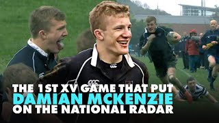 The 1st XV game that put schoolboy Damian McKenzie on the map as a potential All Black