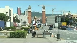 preview picture of video 'Barcelona city trip'