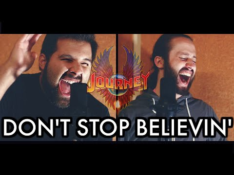DON'T STOP BELIEVIN' - Journey (Caleb Hyles & Jonathan Young) - Metal Cover - Caleb Hyles