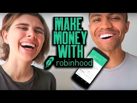 MAKE MONEY WITH ROBINHOOD APP || STOCKS, DAY TRADING, SWING TRADING