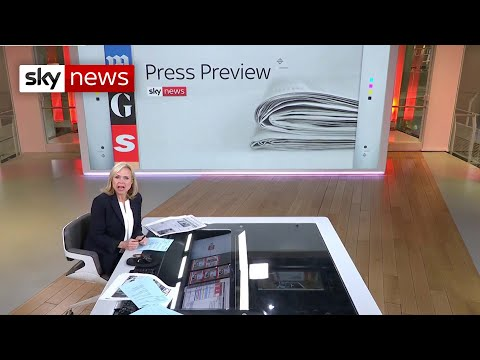 Press Preview: A first look at Wednesday's newspaper headlines