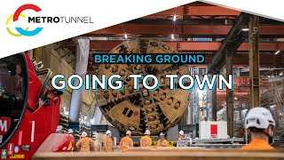 Breaking Ground: Our TBMs are going to Town (Hall Station)