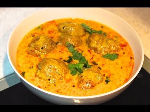 """Rajasthani Pakoda Kadhi / Rajasthani Spicy Curry "" | – Indian Vegetarian Recipe"