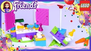 Lego Friends Birthday Party Gift Shop Baby Bunny Twins Set Build Review Play - Kids Toys