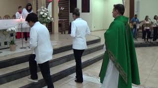 Canto de Entrada - Missa do 30º Domingo do Tempo Comum (27.10.2018)