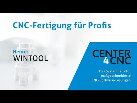 WINTOOL Werkzeugverwaltung - Center4CNC - das Systemhaus für maßgeschneiderte CNC-Software-Lösungen