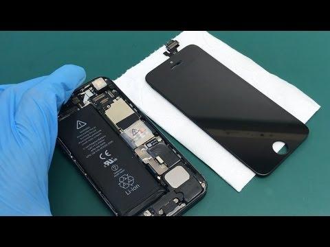 Как заменить стекло на iphone своими руками - на клей LOCA ✔️