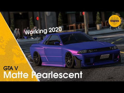 GTA V  - Matte Pearlescent Paintjob Glitch || Working 2018