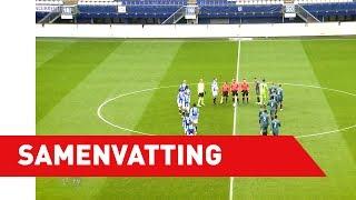 Samenvatting sc Heerenveen - Ajax (oefenwedstrijd)