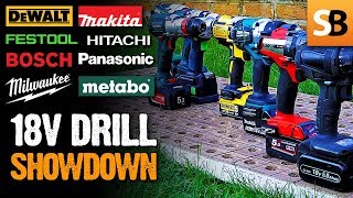 Cordless Drill Head to Head - Which is Best?