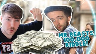 How To Solve Mr Beast $100,000 Riddle Steps 1 - 5