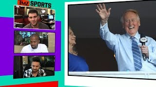 Vin Scully Not Returning for World Series, Dodgers Say | TMZ Sports