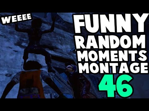 Dead by Daylight funny random moments montage 46