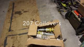Peugeot 207 Coilovers Install