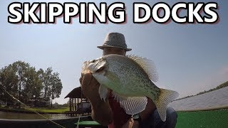 Skipping Docks For Crappie